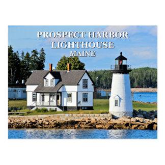 Prospect Harbor Lighthouse, Maine Postcard