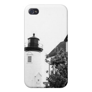 Prospect Harbor Point Lighthouse Cases For iPhone 4