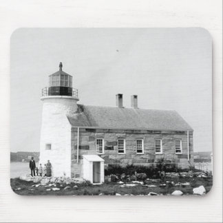 Prospect Harbor Point Lighthouse Mouse Pads