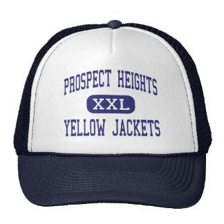 Prospect Heights Yellow Jackets Orange Mesh Hats