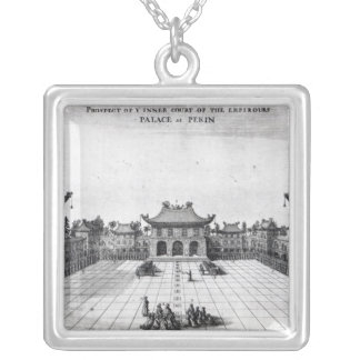 Prospect of the Inner Court Silver Plated Necklace