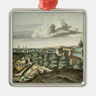 Prospect of the Town of Glasgow Christmas Ornament
