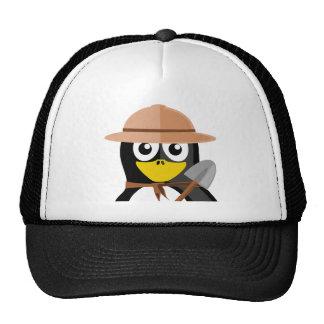 Prospector Penguin Trucker Hats