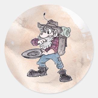 Prospector Round Sticker