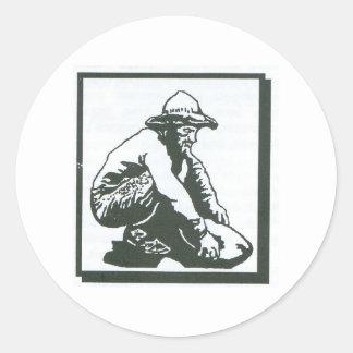 prospector classic round sticker