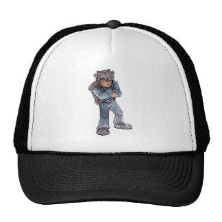 Prospector Winking Trucker Hats
