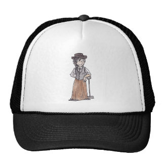 Prospector with Shovel Cap