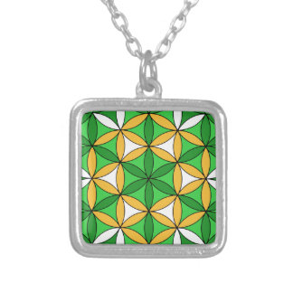 Prosperity4 Square Pendant Necklace