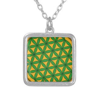 Prosperity9 Square Pendant Necklace