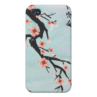 """Prosperity Blossoms"" Chinese Cherry Blossoms iPhone 4/4S Covers"