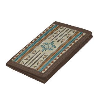 Prosperity Nylon Tri-fold Wallet