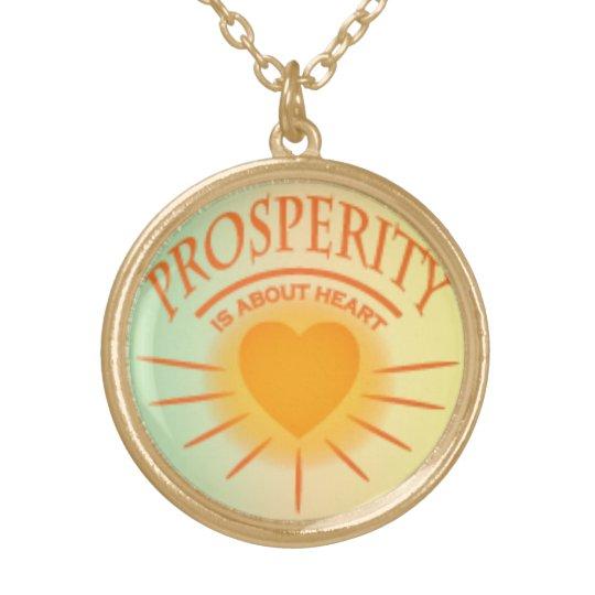 Prosperity pendant