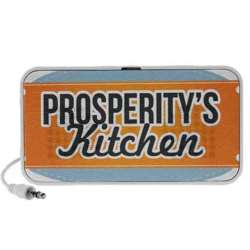 Prosperity's Kitchen Logo Items Mini Speaker