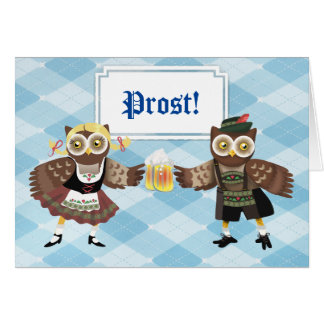Prost! Wir Feiern Oktoberfest Greeting Card