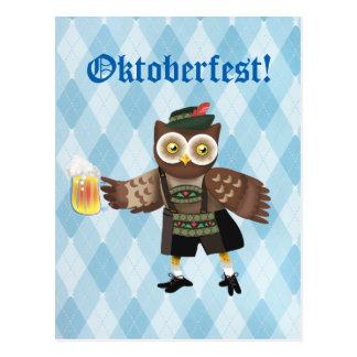 Prost! Wir Feiern Oktoberfest Postcard