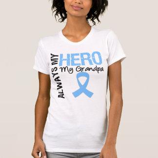 Prostate Cancer Always My Hero My Grandpa Tshirts