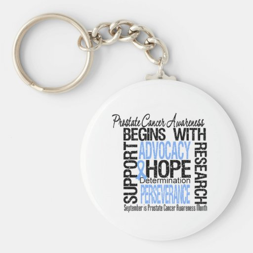 Prostate  Cancer Awareness Month Hope Key Chain