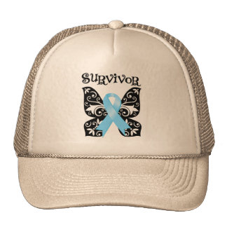 Prostate Cancer Butterfly Survivor Cap