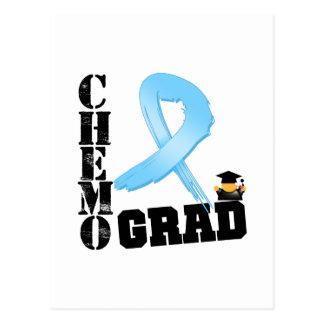 Prostate Cancer Chemo Grad Postcard