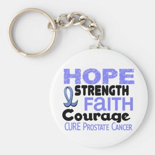 Prostate Cancer HOPE 3 Key Chains