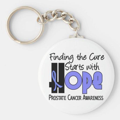 Prostate Cancer HOPE 4 Keychains