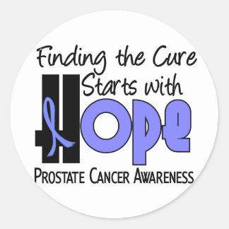 Prostate Cancer HOPE 4 Sticker