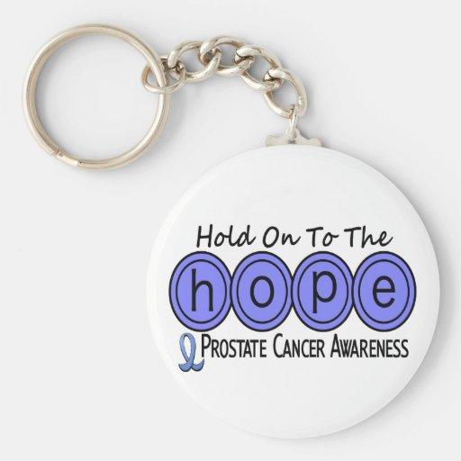 Prostate Cancer HOPE 6 Keychain
