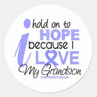 Prostate Cancer Hope for My Grandson Sticker