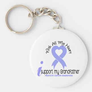 PROSTATE CANCER I Support My Grandfather Key Chains