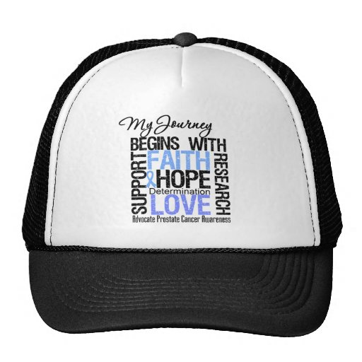 Prostate Cancer My Journey Begins With FAITH Hats