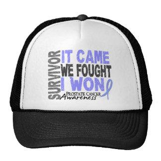 Prostate Cancer Survivor It Came We Fought I Won Cap