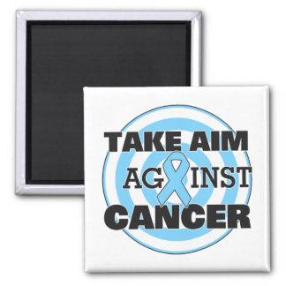 Prostate Cancer Take Aim Against Cancer Refrigerator Magnet