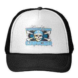 Prostate Cancer Tougher Than Cancer Skull Trucker Hats