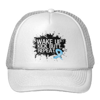 Prostate Cancer Wake Up...Kick Butt...Repeat Trucker Hat