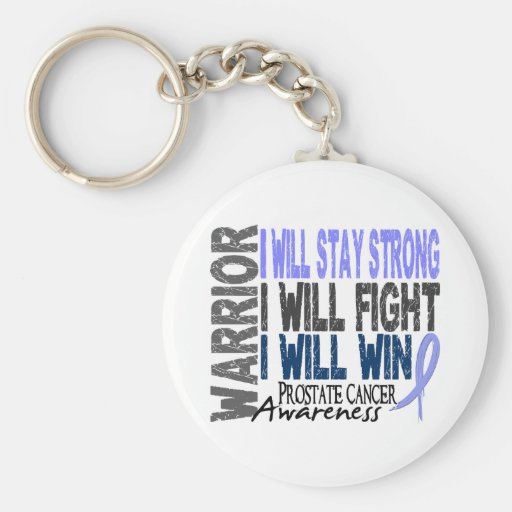 Prostate Cancer Warrior Key Chains