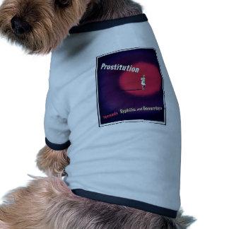 Prostitution Ringer Dog Shirt