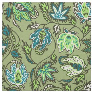 Protea Batik Hawaiian Tropical Floral Fabric