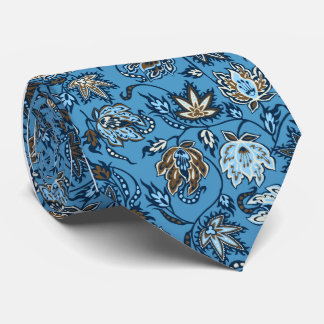 Protea Batik Tropical Print Ties