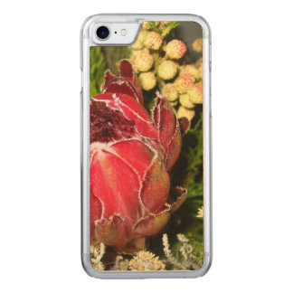 Protea Bouquet Carved iPhone 8/7 Case