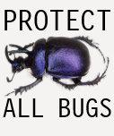 protect all bugs tee shirt