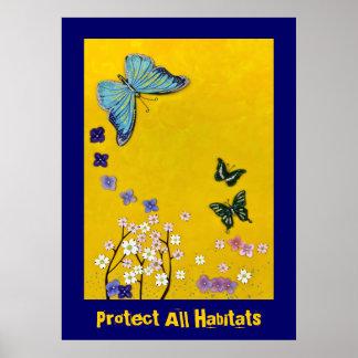 Protect All Habitats Poster