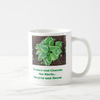 Protect and Cherish the Earth Basic White Mug