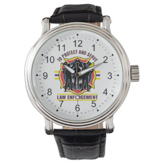 Protect and Serve Police Wrist Watches