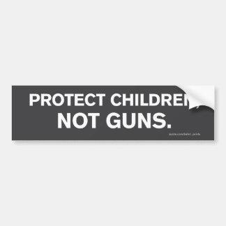 """""""Protect Children, Not Guns"""" Bumper Sticker"""