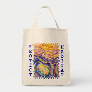 Protect Habitat Organic Tote Bag