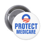 Protect Medicare Obama 2012 Buttons