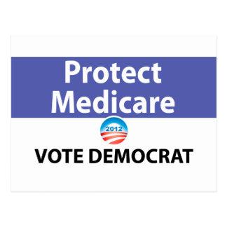 Protect Medicare: Vote Democrat Post Card