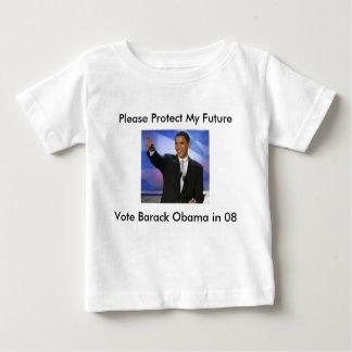 Protect My Furture...Vote Obama 08, Please Prot... Tshirts