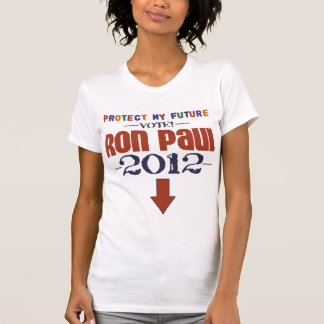 Protect My Future Ron Paul 2012 T-Shirt