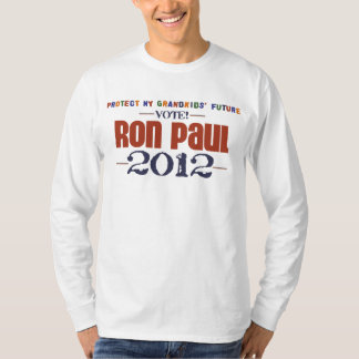 Protect My Grandkids' Future Vote Ron Paul 2012 T Shirts